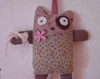 Plush cat teen women soft tones