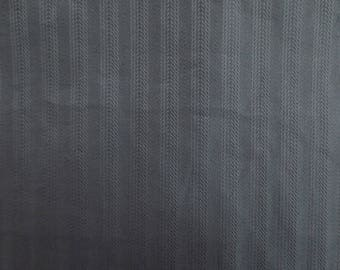 Fabric coupon gray blue cotton elastane 33.5 x 62 cm