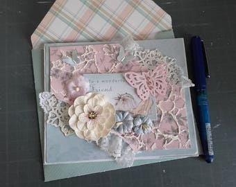 "Card ""To A Wonderful Friend"""
