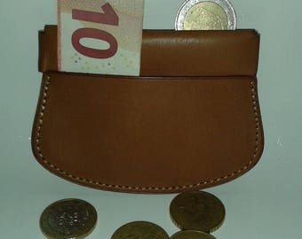 Clic Clac Berenia brown leather wallet