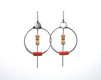 "BO Creole resistance and wire recycled ""dark orange"""