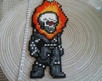 Ghost Rider. Marvel. Pixel art