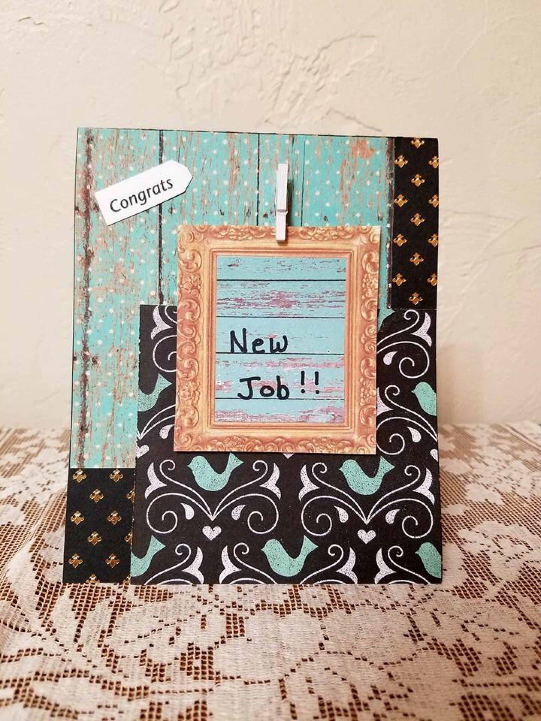 Congrats New Job Greeting Card E10261624441264392m 175