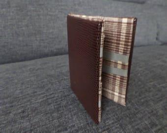 Portfolio magical skivertex Brown, Brown and cream Plaid Interior