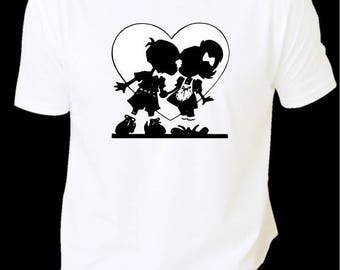 T-shirt woman lovers