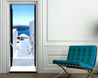 sticker is oh the pretty view 204 x 73 cm. Made in Aix en Provence