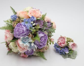 Bouquet with corsage