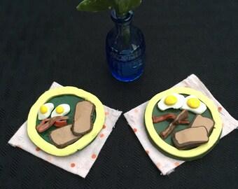 Miniature Breakfast Plate