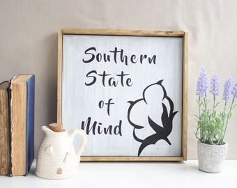 Southern State of Mind canvas