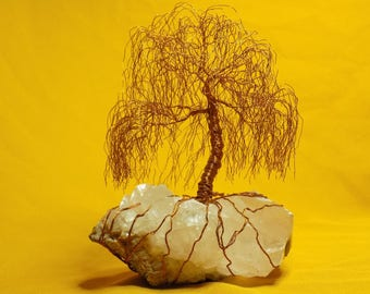 Willow Wire, wire bonsai, wire tree