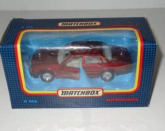 Vintage Matchbox Superkings K146 - Jaguar XJ6 Mint In Box