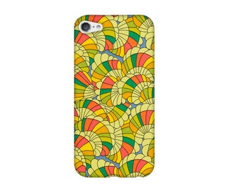 Case for iPhone 4 4s 5 5s 5SE, 5 c, 6, 6 +, 6s, 6, 7, 7 + Liberty BABY RAINBOW d.