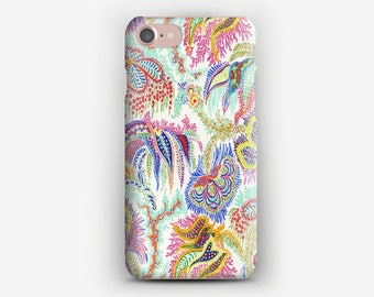 Hard iPhone case 7 + 7, Corals liberty