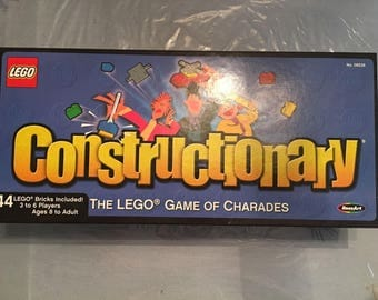 """Lego BoardGame Constructionary """"The LEGO Game of Charades"""" CIB"""