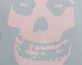 Misfits Crimson Ghost Vinyl Decal