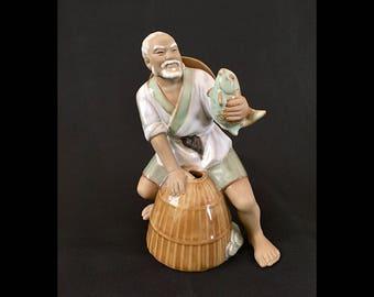 Chinese Mud Man (Mudman) Fisherman | China
