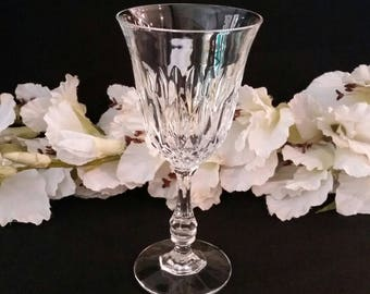 crystal stemware crystal wine glass crystal glass single wine glass one crystal