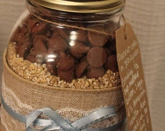 Chocolate Chip Lactation Cookies Baby Boy Gift