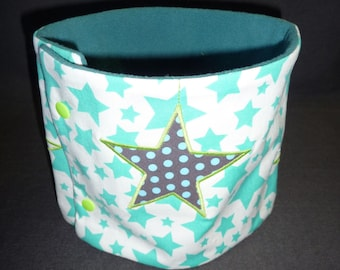 "Collar snood for children 4 to 8 years, ""Stars"""
