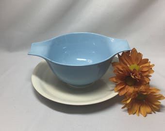 Gravy Boat Bowl Dish Homer Laughlin Skytone