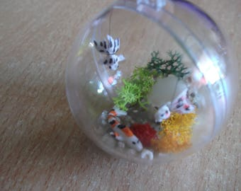 "Mini bubble ""my little aquarium"" (special request)"