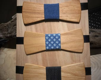 Wooden adult bowties