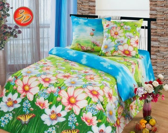 Stylish bed sheet set with natural materials, buy fashioned bedding sheet sets online