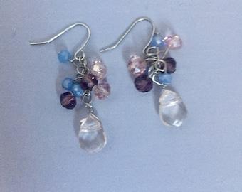 Pastel Jeweled Earrings