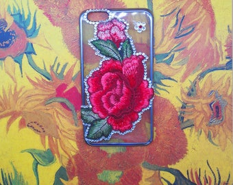Charming Handmade Design Phone Case Iphone Shell Cover With Flower iphone6 6s iphone6 plus iphone7 plus