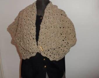 Hidden heart hand knitted woolen