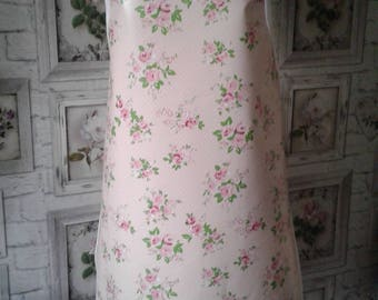 Vintage Pink/Roses Pvc Apron(Adult)