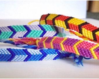 Jipijapa Friendship Bracelets | Two Square Bracelets | Woven Bracelets | Friend Gift