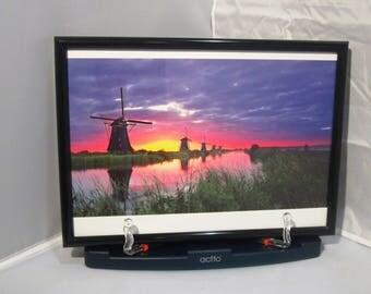 Ken Duncan photograph print Kinderdijk, Netherlands - framed