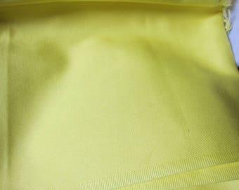 Sunshine lemon yellow cotton coupon 10 x 140 cm (ref 15)