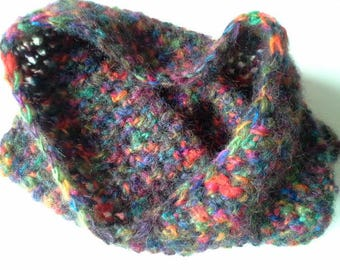 snood mohair various colors warm and soft