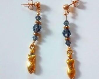 Gold Goddess Earrings