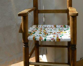 High chair seat Ribbon