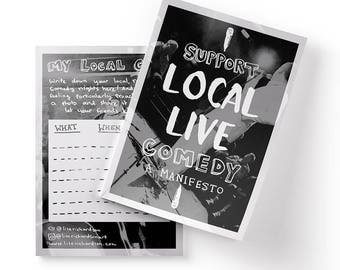Support Local Live Comedy Zine