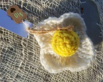 Fried Egg Rattle