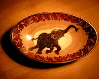 Elephant Bowl - Handmade in Kenya
