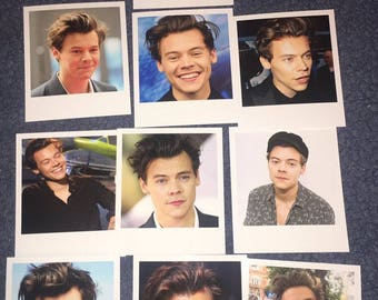 Harry Styles Polaroids set of 10