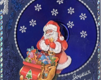 Father Christmas 3 3D card