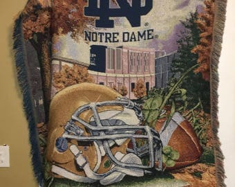 Fightin' Irish Notre Dame Blanket