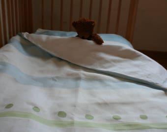 Organic bed linen for children 130 x 100 cm (Duvetbezug) 60x40cm (pillow)
