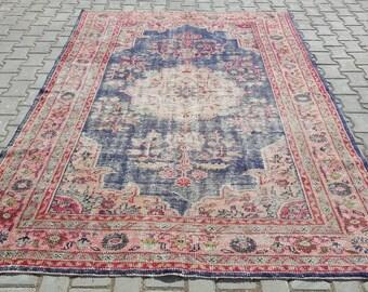 Turkish Carpet Rug, Antique Rug, Oushak Rug, Decorativ Rug, Bohemian, Home Decor, Area rug