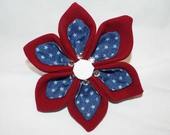 Patriotic Flower-Collar Accessories