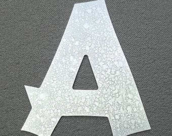 Model letter zinc CANCUN; all letters available