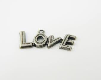 1 x charm love (l143)
