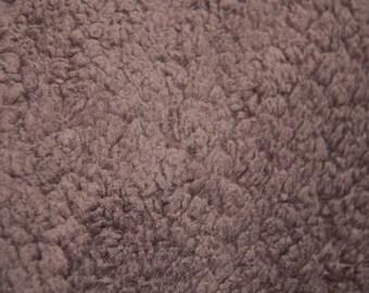 Brown sheep - imitation Shearling Brown fabric