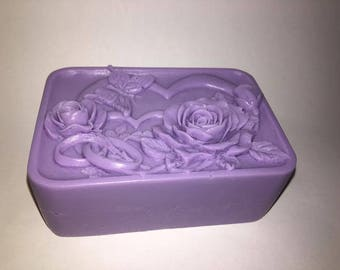 Butterfly Rose Soap